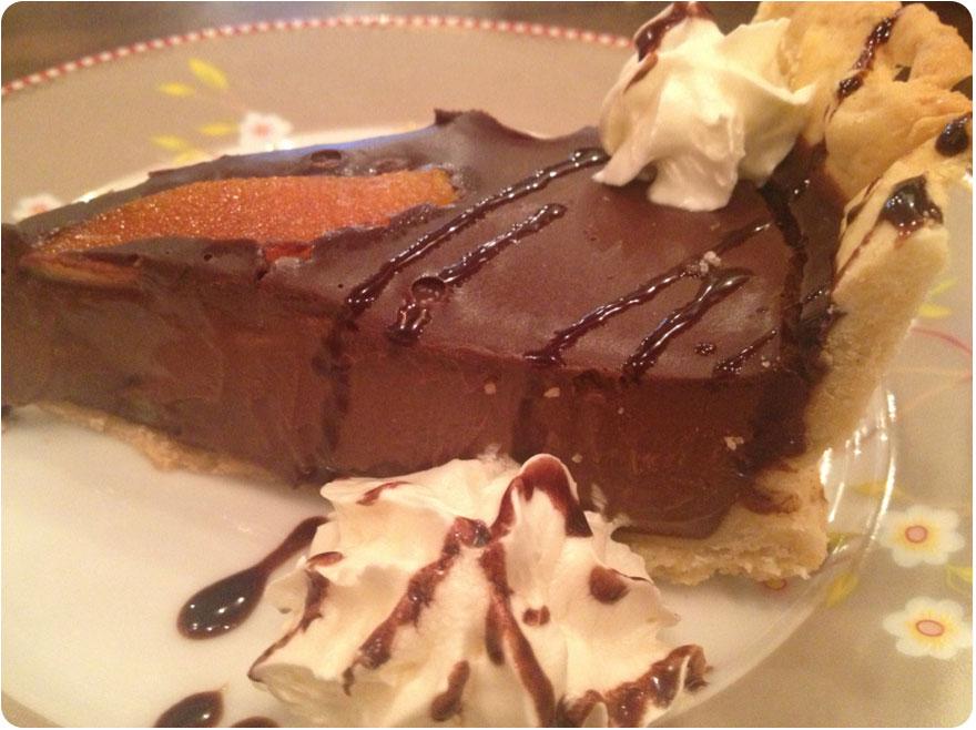 Brunch en Barcelona - Pudding_Tarta chocolate y naranja