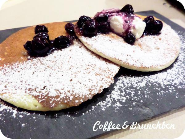 Brunch en Sant Cugat–Somewhere Cafe-Pancakes