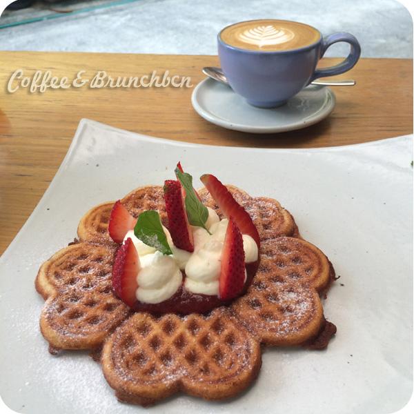 Brunch en Bangkok–Rocket Coffeebar-Gofres y cafe
