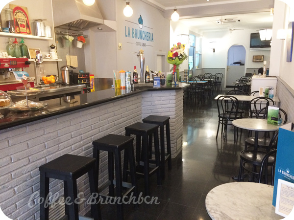 Brunch por Sagrada Familia–La Bruncheria-Interior