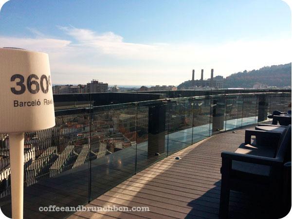 Hotel Barcelo-B-Lounge-Brunch bufe libre en el Raval-Terraza 360 grados
