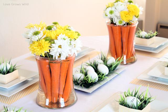 Centro de mesa para Pascua