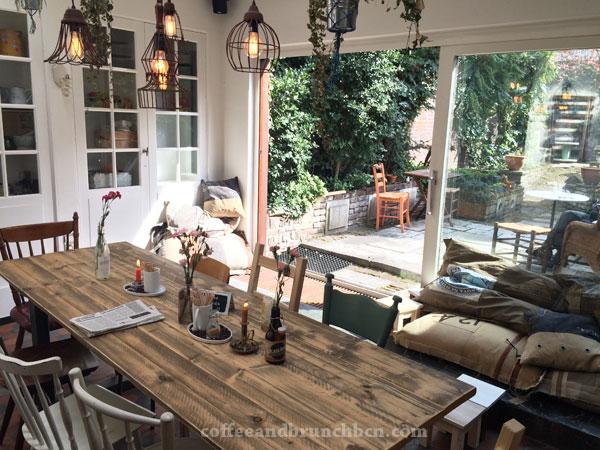 Cafetería Livin' Room en Maastricht