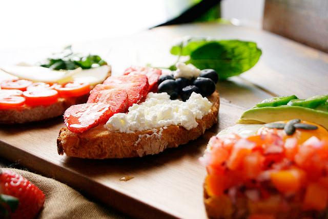 Bruschette - Recetas de brunch saludables