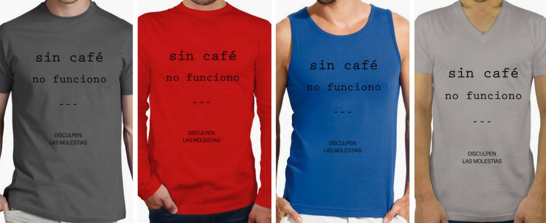 Camisetas Coffee Lovers - Regalos hombres