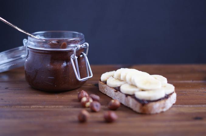 Nocilla casera saludable - receta brunch saludable