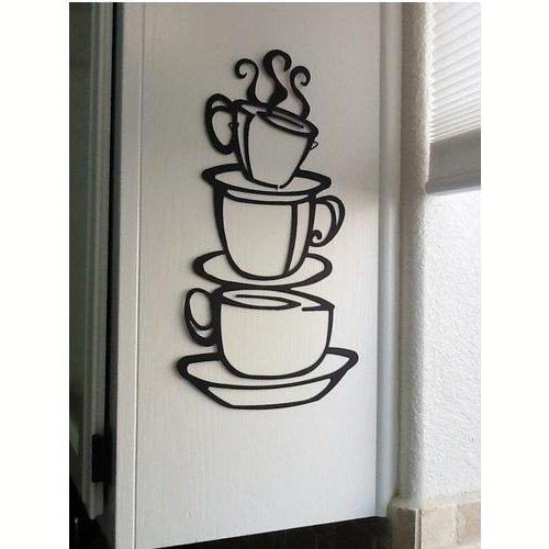 Vinilo decorativo tazas de café - Regalos para coffee lovers