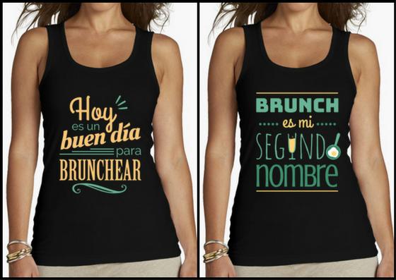 Camisetas brunch lovers