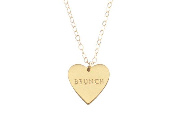 Collar amo el brunch - Regalos brunch lovers