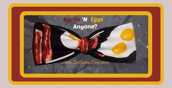 Pajarita beicon y huevos - Regalos brunch lovers