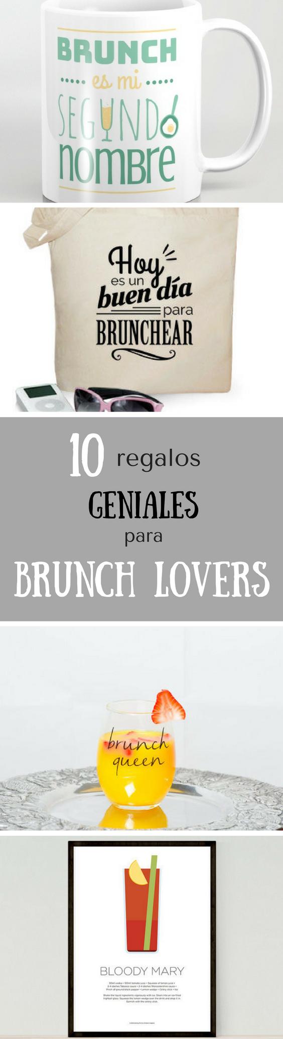 Regalos geniales para brunch lovers