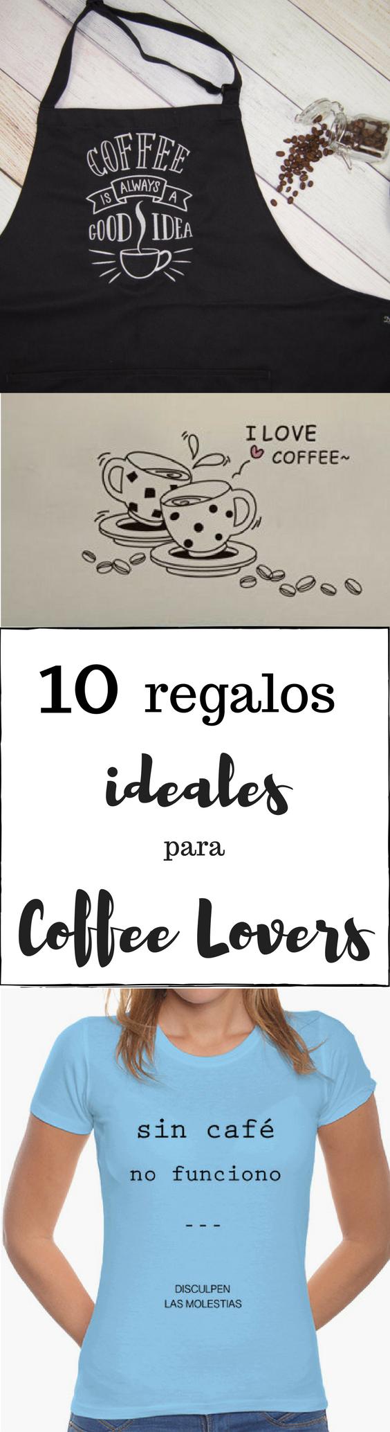 Regalos ideales para amantes del café