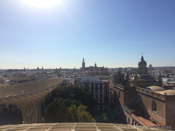 Fin de semana en Sevilla con brunch - Vista desde Las Setas