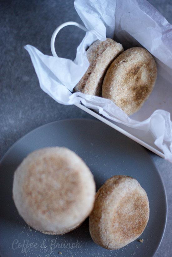 Muffins ingleses o English muffins - Receta de brunch