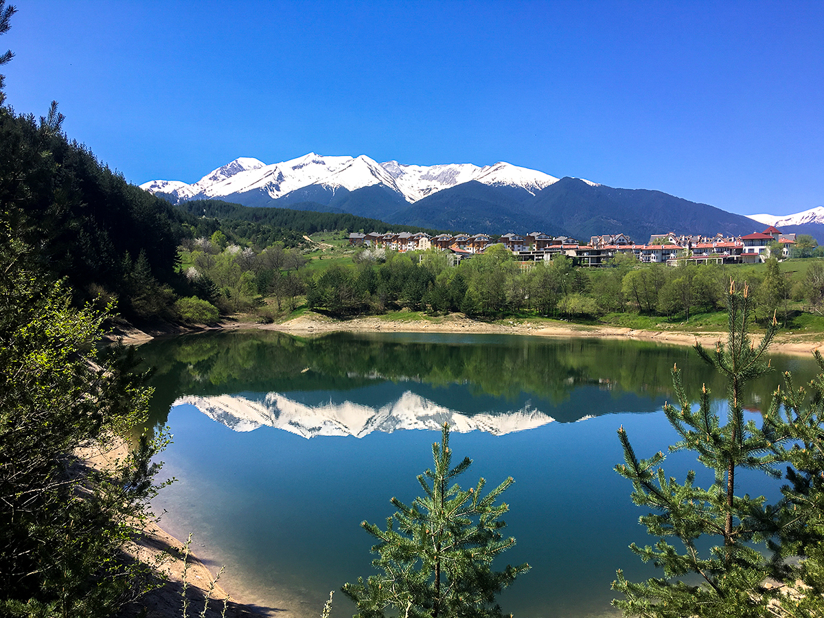 Mountains in Bansko